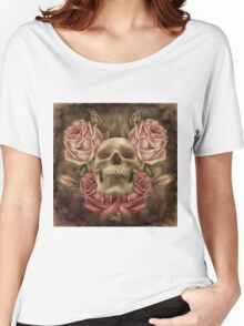 Skull And Rose's 2 Women's Relaxed Fit T-Shirt