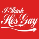 I think hes gay by Steve Lambert