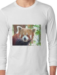 Red Panda Portrait Long Sleeve T-Shirt