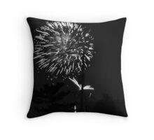 Firework 45 Throw Pillow