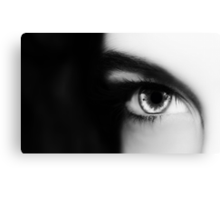 she sees me Canvas Print