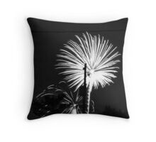 Firework 49 Throw Pillow