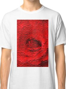Floral abstract study in red Classic T-Shirt