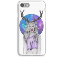 Galactic girl iPhone Case/Skin