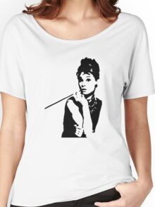 Audrey Hepburn Breakfast At Tiffanys Women's Relaxed Fit T-Shirt