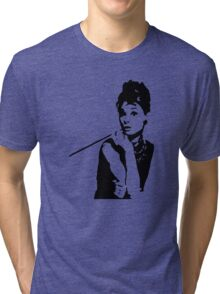 Audrey Hepburn Breakfast At Tiffanys Tri-blend T-Shirt