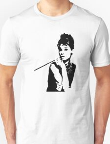 Audrey Hepburn Breakfast At Tiffanys Unisex T-Shirt