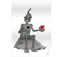 Broken Hearted  Tin man Poster