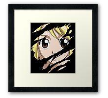 fairy tail lucy heartfilia anime manga shirt Framed Print