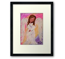 Haley's Angel Framed Print