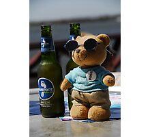 Bear on tour. Photographic Print