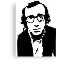 Annie Hall Woody Allen Stencil Canvas Print