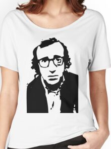Annie Hall Woody Allen Stencil Women's Relaxed Fit T-Shirt
