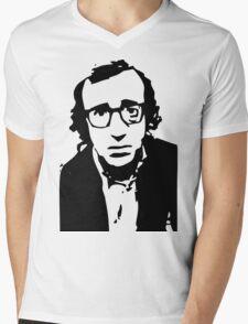 Annie Hall Woody Allen Stencil Mens V-Neck T-Shirt