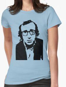 Annie Hall Woody Allen Stencil Womens Fitted T-Shirt