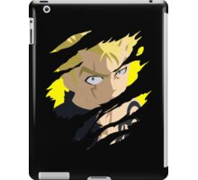 fairy tail laxus anime manga shirt iPad Case/Skin