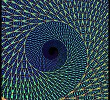 """Peacock Swirl"" by im1happy2"