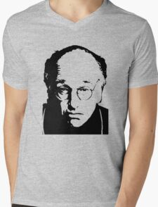 Seinfeld Comedian Larry David Mens V-Neck T-Shirt