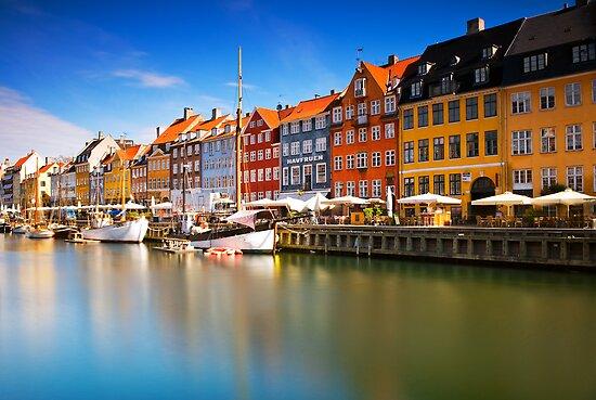 Nyhavn Harbour - Copenhagen, Denmark by Yen Baet