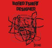Bored Tshirt Designer Kids Clothes