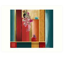 """Small Bouquet"" - Abstract realism Art Print"