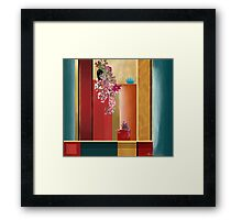 """Small Bouquet"" - Abstract realism Framed Print"