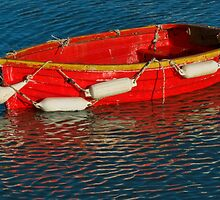 Little Red Dinghy by Susie Peek