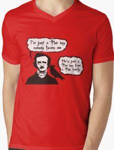 I'm just a Poe boy nobody loves me Mens V-Neck T-Shirt