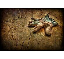 If the Glove Doesn't Fit............... Photographic Print
