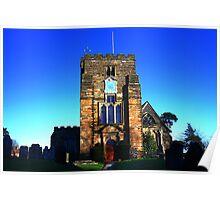 St Mary, Goudhurst Poster