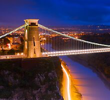Clifton Suspension Bridge - Bristol, England by Yen Baet