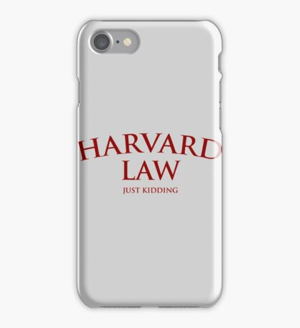 Harvard Law iPhone Case/Skin