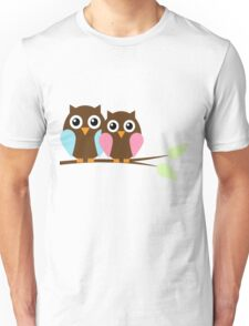 Owl love you Unisex T-Shirt