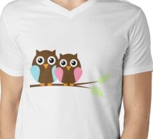 Owl love you Mens V-Neck T-Shirt