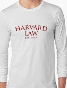 Harvard Law Long Sleeve T-Shirt