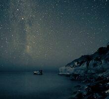 Still starry night by Glen Barton