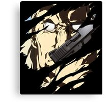 ghost in the shell batou anime manga shirt Canvas Print