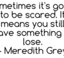 Grey's Anatomy Quote Sticker