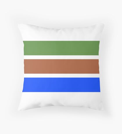 pepe aesthetic  Throw Pillow