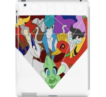 Johto Legendaries iPad Case/Skin