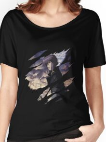ghost in the shell motoko kusanagi anime manga shirt Women's Relaxed Fit T-Shirt