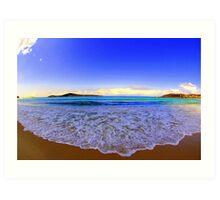 Fingal Bay Art Print