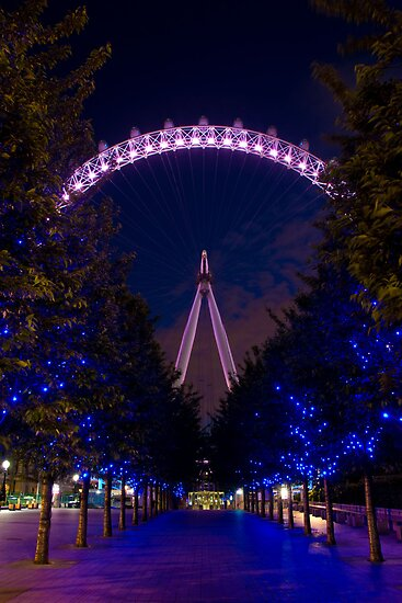 The London Eye by Daniel Attema