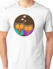 Romantic Owls Unisex T-Shirt