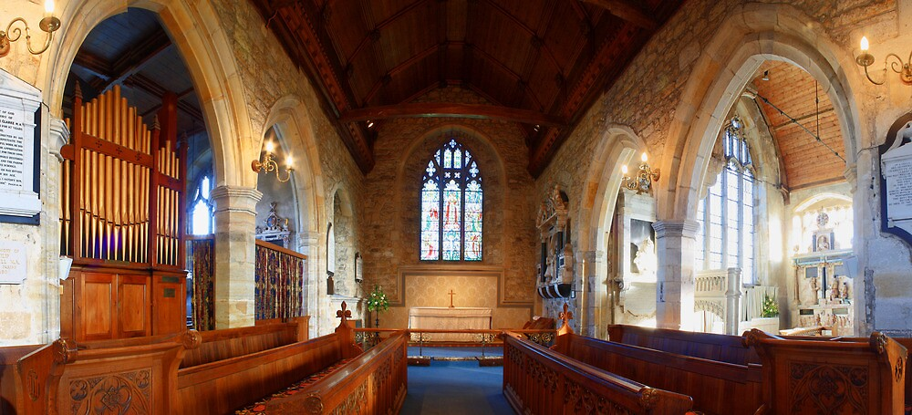 Chancel and Chapels, St Mary, Goudhurst by Dave Godden