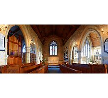Chancel and Chapels, St Mary, Goudhurst Photographic Print