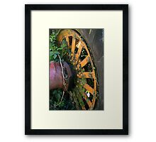 The Colour Wheel Framed Print