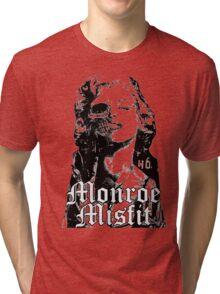 monroe misfit marilyn monroe Tri-blend T-Shirt