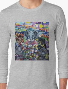 Garden Party - animals take care of the earth Long Sleeve T-Shirt