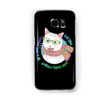 It's Not Over Till the Cat Lady Sings! Samsung Galaxy Case/Skin